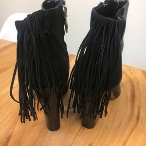 Sam Edelman Shoes - Sam Edelman 'Mariel Fringe Booties'